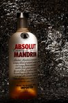 final project... simply a ABSOLUT bottle, two torches, aluminum foil and, shooting it in a dark room.