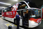 This looks like a nice intercity coach (with wifi), shame that ours was not this one