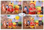 10. 小熊 Pooh  (圖中Pooh是客人自備)