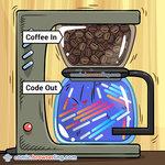 Coffee Programming Principle - Programming Joke